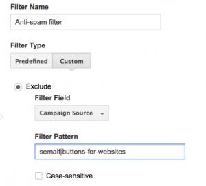 Anti-spam filter